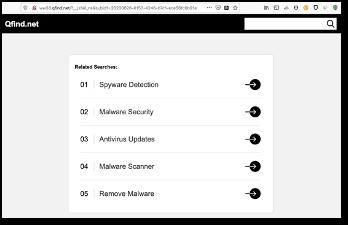 Figure 2 - suspicious '.com' election website domain